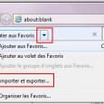 Lorsque l'on utilise Firefox pendant un temps et que l'on y stocke des marque-pages, on peut avoir envie de revenir à Internet Explorer 7. Mais là, bien que Firefox propose l'importation des favoris depuis le