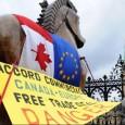 """Tel un transformer, à peine la défaite cuisante du traité ACTA essuyée le 4 Juillet (478 """"contre"""" et 39 """"pour""""), voici que CETA, un autre traité, pourrait prendre le relais, puisque ce dernier reprend"""