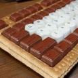 Paques est passé et voici qui pourrait ravir ceux encore demandeur d'une petite ration de chocolat avec ces claviers pour le moins insolites... Rêve ou réalité, à vous de voir !            Clavier