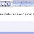 Vous pouvez rencontrer ce message d'erreur si, pour une raison quelconque, vous voulez modifier le fichier hosts… Mais c'est bien sûr sans compter sur Windows (et non spybot comme certains […]