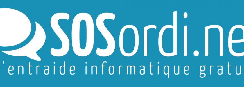 SOS Ordi a été le premier site d'entraide informatique du genre en France il y a maintenant près de 20 ans...