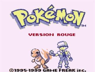 Game Boy_Pokemon rouge