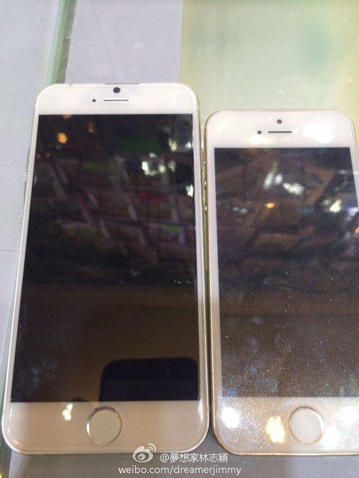 iphone 6_comparatif iphone 5S