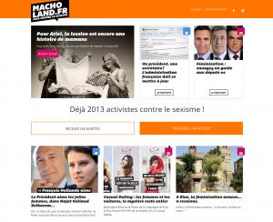 Macholand.fr_lancement site