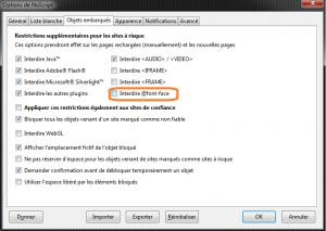 NoScript_Font face