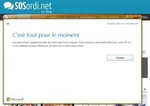 Windows 10_envoi email réservation mise à niveau