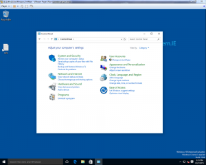 Windows 10_panneau de configuration Windows 7