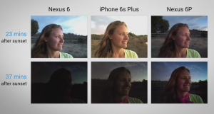 Photos Nexus6 et 6 P_iPhone 6S Plus