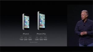 iphone 6S 6S plus_prix