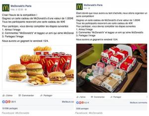 Facebook_arnaque mcdonalds