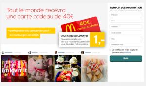 Facebook_arnaque mcdonalds formulaire