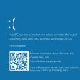 Microsoft aurait intégré pour son dernier OS l'ajout d'un QR code dans son fameux écran bleu de la mort, renvoyant à une page d'aide Windows...