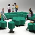 Une entreprise de design Italienne présentera bientôt un nouveau concept-canapé permettant d'agencer au gré de ses envies chaque partie du meuble...