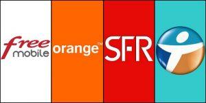 Free mobile SFR Bouygues telecom Orange_opérateurs mobiles