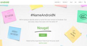 android n_choisir un nom
