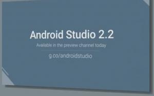 android studio 2 2