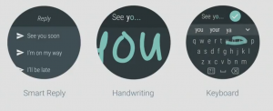 android wear_type fonctions