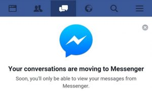 Facebook messenger_migration application messenger