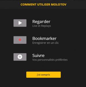 molotov TV_modes
