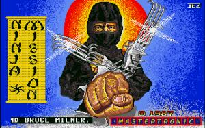Ninja mission_amiga jeux vidéo 1987