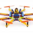 Un drone entièrement conçu par l'utilisateur, en pièce de Lego...
