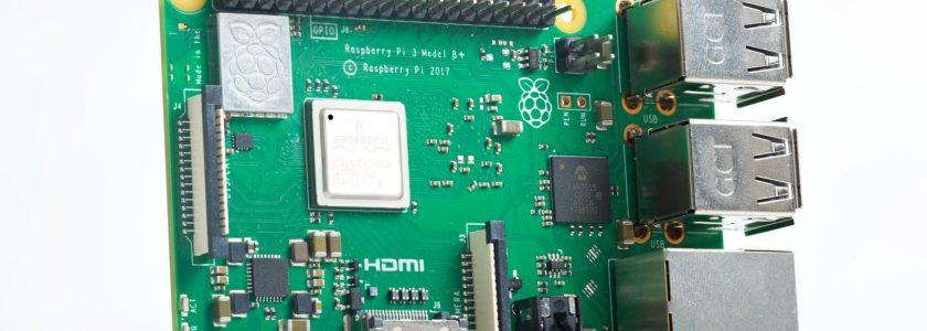 Un modèle B+ pour la Raspberry Pi 3...