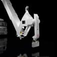 Robot au bras articulé géant...
