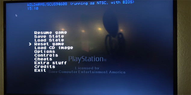 PlayStation Classic : le menu caché de la mini-console de Sony !