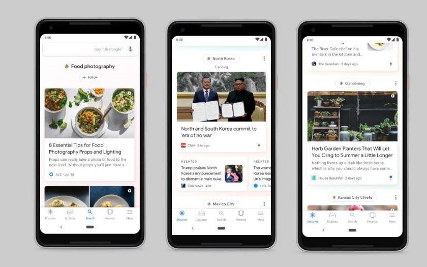 Flux Google (Discover) sur Android : comment le désactiver ?