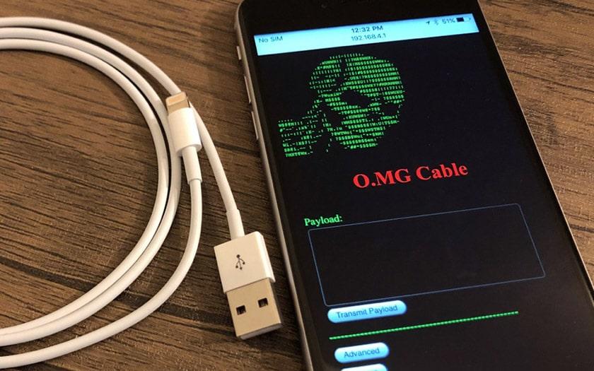 O. MG : quand un câble USB est détourné pour permettre l'intrusion système et réseau (plug and...) !