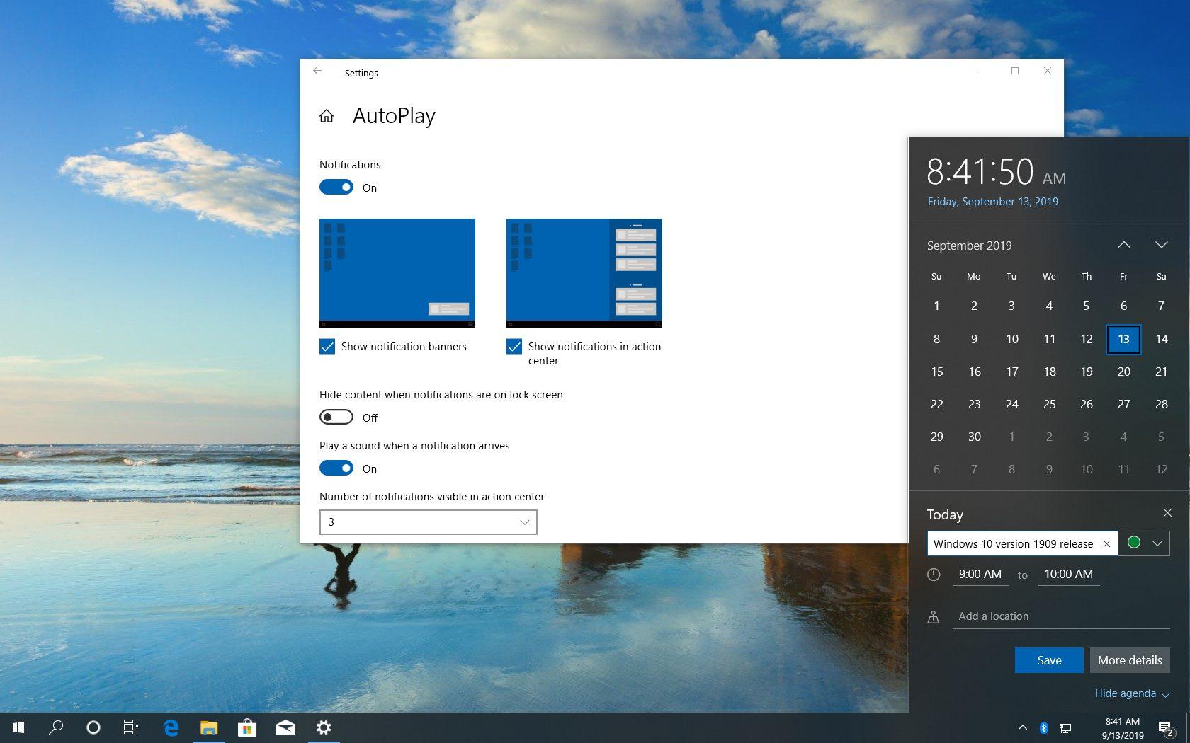 Windows 10 19H2, 1909 : les nouveautés de la November update ! (W mineur)