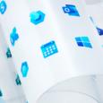 """Nouveau cru avec, sans préambule, une refonte directement présentée pour le logo """"Windows""""..."""
