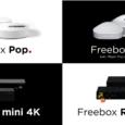 Le choix entre quatre modèles de box Internet...