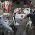 L'avant-dernière maintenance des batteries de l'ISS avec, cette semaine, l'installation, en plus, d'une caméra HD...