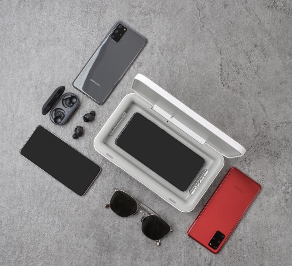 Samsung : un boîtier stérilisateur UV pour désinfecter smartphones et accessoires ! (génération COVID19...)