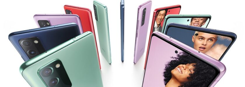 Samsung annonce la couleur ou plutôt les couleurs...