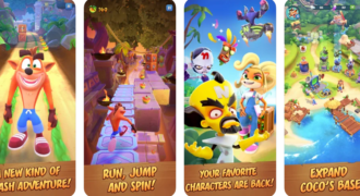 Crash Bandicoot, on the run : le jeu déboulera sur iOS et Android le 25 Mars 2021 !