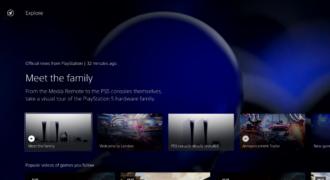 State of Play : Sony dévoile en primeur l'interface-utilisateur de la PS5 ! (la folie de la tuile et du multi-jeu…)