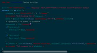 VPN Pulse Secure : le stockage et le chiffrement des mots de passe étaient accessibles depuis le registre Windows !