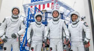 [A venir] SpaceX Crew-2 : J-2 avant le départ de l'équipe qui intégrera l'expédition 65-66 à bord de l'ISS… décollage à partir de 12 h 11, le 22 Avril 2021 ! (heure française…)