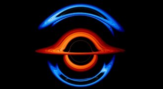 [Insolite] Espace : la NASA virtualise deux trous noirs supermassifs ! (l'un est grand, l'autre petit… à quelques millions près)
