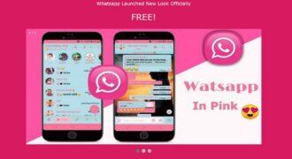 """""""WhatsApp (in) Pink"""" : gare au malware qui propose un faux thème rose pour l'application mobile depuis une URL !"""