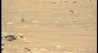 Mars : 5ième vol programmé pour aujourd'hui… attente de la réception des données fournies par Ingenuity à partir de 1 h 31 du matin ! (heure française…)