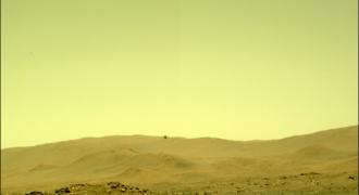 [MAJ 08 / 05] Mars : 5ième vol programmé pour aujourd'hui… attente de la réception des données fournies par Ingenuity à partir de 1 h 31 du matin ! (heure française…)