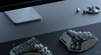 """[Insolite] """"Inspiré par Westworld"""", le Am Hatsu, un clavier futuriste !"""