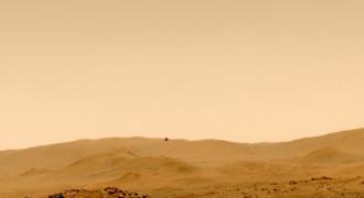 Mars : Ingenuity complète son cinquième vol-test, le 7 Mai 2021 !