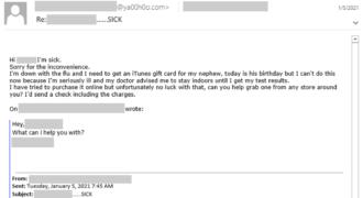 Compromis de messagerie professionnelle, typo-squattage : Microsoft met en lumière une campagne qui visait à subtiliser des cartes-cadeaux ! (prise de BEC…)