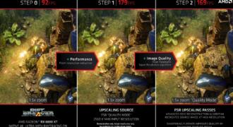 FidelityFX Super Resolution (FSR) : AMD annonce la disponibilité, dès le 22 Juin 2021, de la technologie pour certains jeux vidéos ! (ça va Super Vite…)