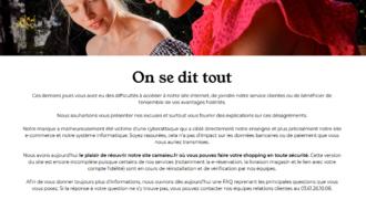 """""""On se dit tout"""" : Camaieu confirme avoir essuyé une cyber-attaque... par ransomware ? (presque tout...)"""