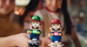 Super Mario Bros : interactivité accrue avec le personnage Luigi qui élargit l'expérience de jeu connecté en mode multi-joueur ! (partage en toute quiétude…)